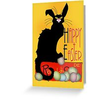 Le Chat Noir - Easter Greeting Card