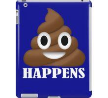 Shit Happens Poop Emoji T-shirt Funny Face Emoticon T-Shirt iPad Case/Skin