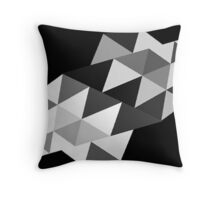 Color Triangle  Throw Pillow