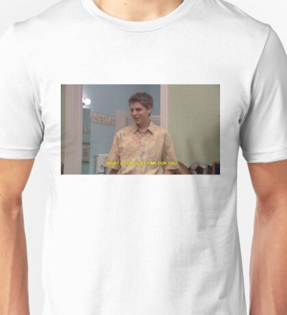 """george-michael bluth """"what a fun sexy time for you"""" Unisex T-Shirt"""