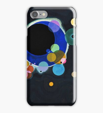 Several Circles Wassily Kandinsky iPhone Case/Skin