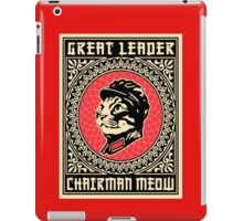 Great chairman leader MEOW iPad Case/Skin