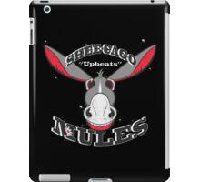 shee-cago mules iPad Case/Skin