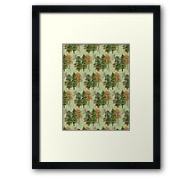 Forest Pattern Framed Print