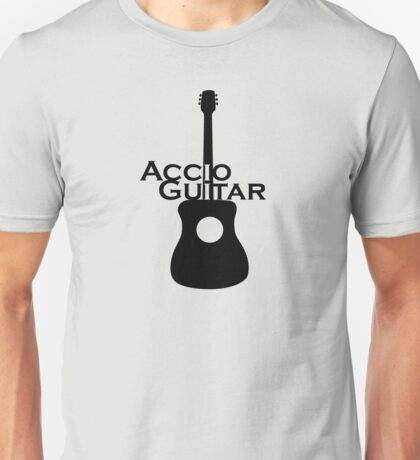 Accio Guitar Unisex T-Shirt
