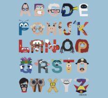 Pixar Alphabet T-Shirt