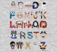 Pixar Alphabet Kids Clothes