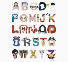 Pixar Alphabet Kids Clothes