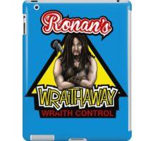 Ronan's wraith control iPad Case/Skin
