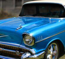 57 Chevy Wagon Sticker