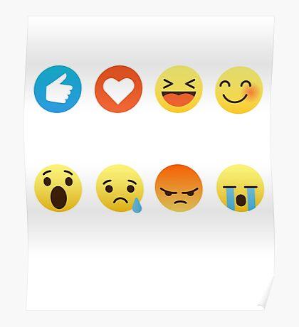I Love Engineering Engineers Emoji Emoticon Graphic Tee Shirt Funny Jobs  Poster