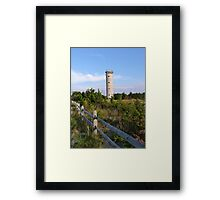 New Jersey Lookout Tower Framed Print