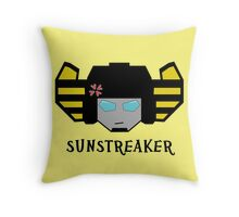 Beat the Best - Sunstreaker Throw Pillow