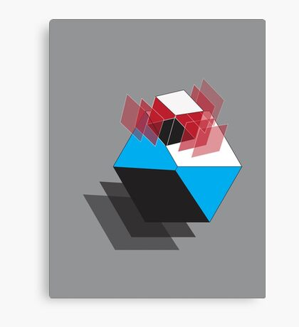Double Cube Canvas Print