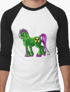 Radioactive Pony Men's Baseball ¾ T-Shirt