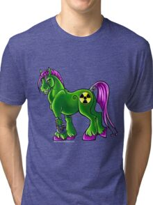 Radioactive Pony Tri-blend T-Shirt