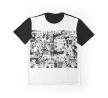 Haikyuu!! Karasuno Collage Graphic T-Shirt