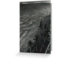 Fort Lauderdale, night Greeting Card