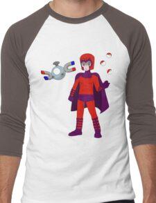 Magneto & Magnemite Men's Baseball ¾ T-Shirt