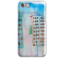 Breeze and Spring in the City iPhone Case/Skin