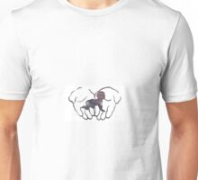The whole world in my hands. Unisex T-Shirt