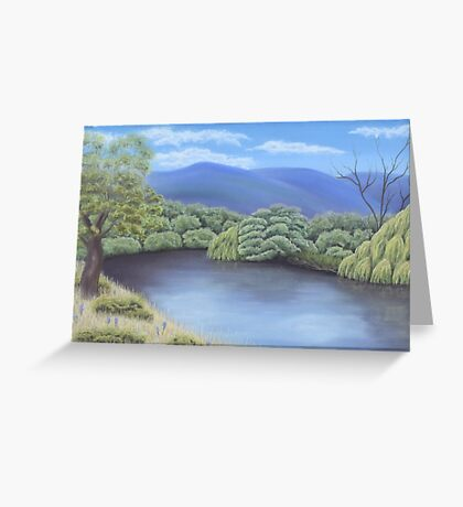 Omeo River Greeting Card