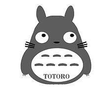 Totoro with name by Fashionuniverse