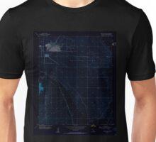 USGS TOPO Map California CA Bristol Lake NW 288612 1954 24000 geo Inverted Unisex T-Shirt