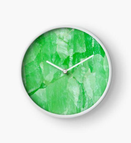 Jade Stone Texture – Clock Clock