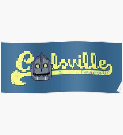 8-bit Coolsville Poster