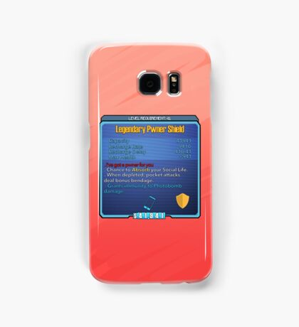 Legendary Pwner Shield Samsung Galaxy Case/Skin