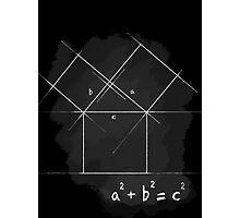 Pythagorean Theorem Photographic Print