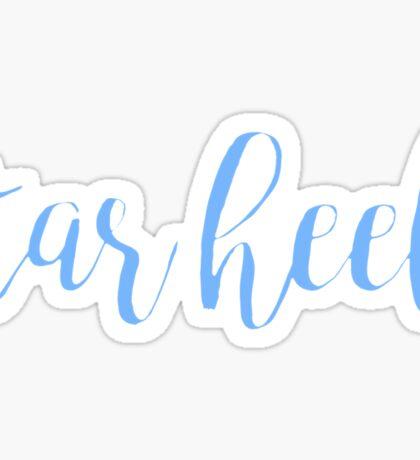Tar Heel  Sticker