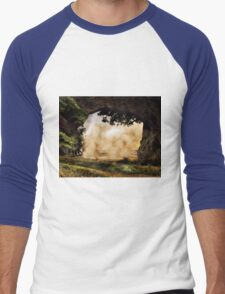 landscape Men's Baseball ¾ T-Shirt
