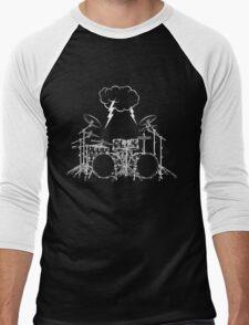 Drums #4 Men's Baseball ¾ T-Shirt