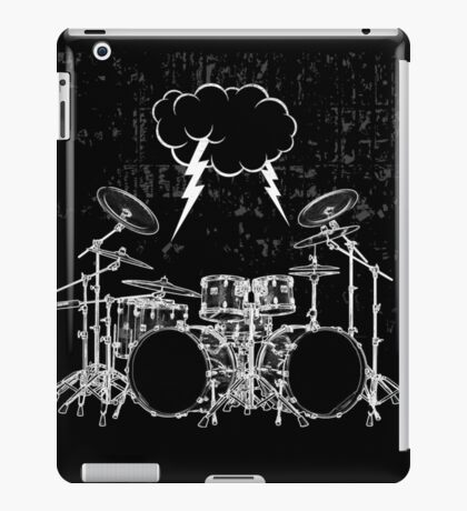 Drums #4 iPad Case/Skin