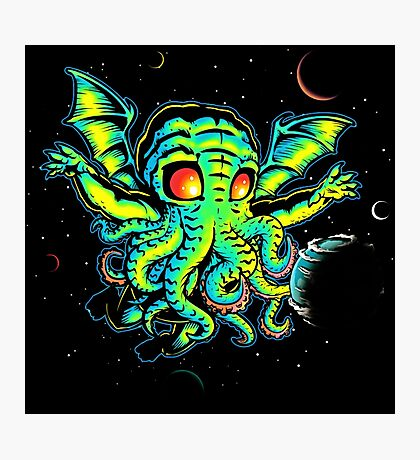 Monster Octo Photographic Print
