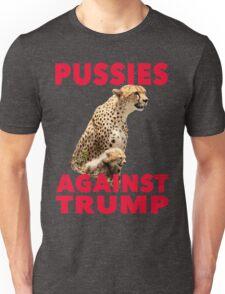 Pussies Against Trump Cheetah and Cub T-Shirt Unisex T-Shirt