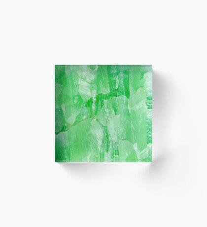 Jade Stone Texture – Acrylic Block Acrylic Block