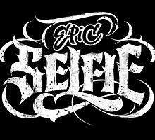 Grunge Tattoo Lettering - Epic Selfie - Be Bold! by 26-Characters