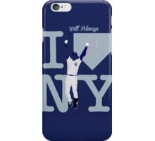 """I will always LOVE NY"" Derek Jeter iPhone Case/Skin"