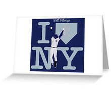 """I will always LOVE NY"" Derek Jeter Greeting Card"