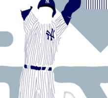 """I will always LOVE NY"" Derek Jeter Sticker"