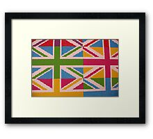 Union Abstract Framed Print