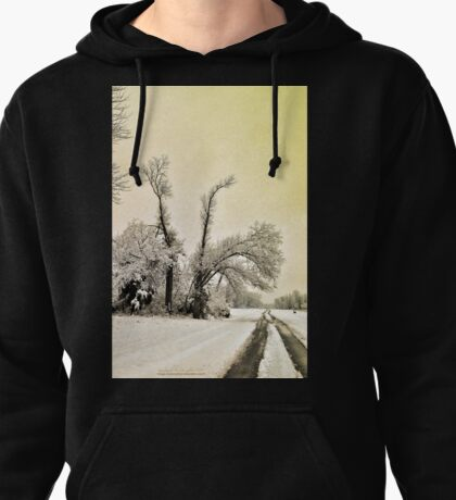 Southern Illinois Winter Scene 9_ Dec 2012 Pullover Hoodie