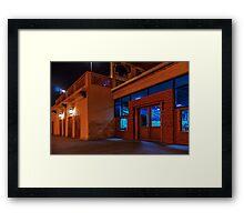 seafood restaurant Framed Print