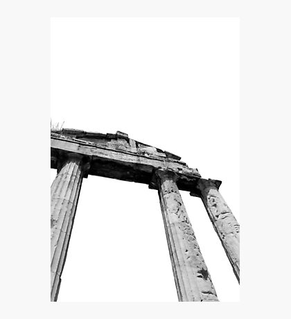 Ancient Ruins, Athens Photographic Print