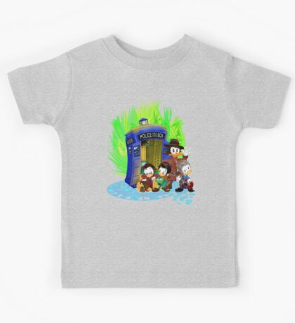 The Ducktor 4th 10th 11th and 12th Tales Kids Tee