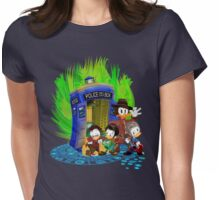 The Ducktor 4th 10th 11th and 12th Tales Womens Fitted T-Shirt