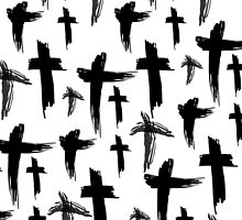 Crosses (black) by StudioBlack